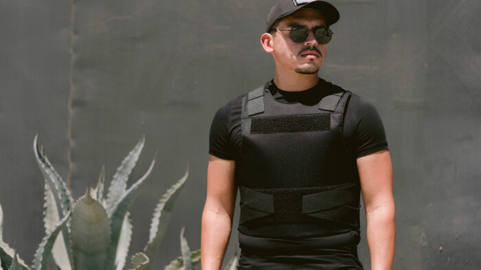 """Bullet and Stab Proof Concealable Body Armor """"Spectre"""" Level 3A"""