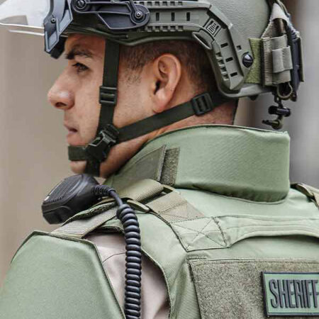 M.S.O.V. Special Operation Bulletproof Vest Level 3A