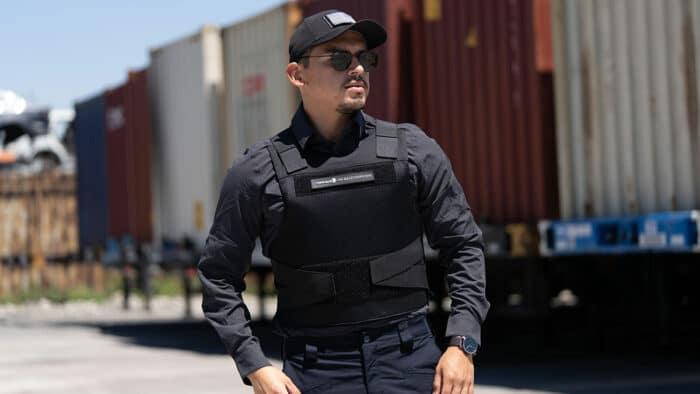 """Concealable Level IIIA Bulletproof Vest """"Spectre"""""""
