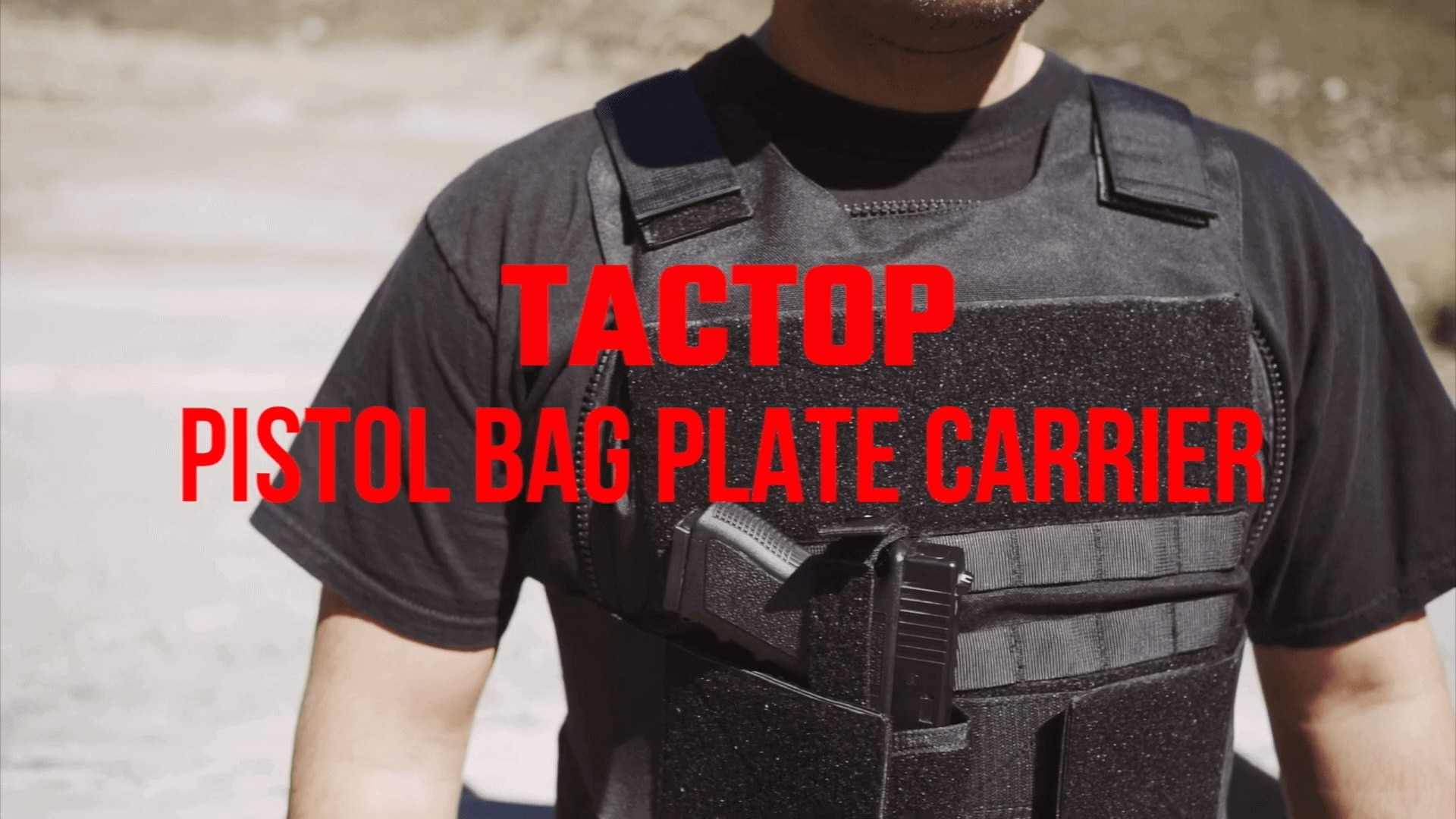 Tactop Pistol Bag