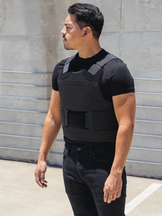 "Bulletproof & Stab proof Concealable Body Armor ""Enhancer"""