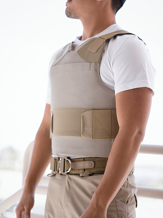 """Bullet and Stab Proof Concealable Body Armor """"Enhancer"""" Level 3A"""