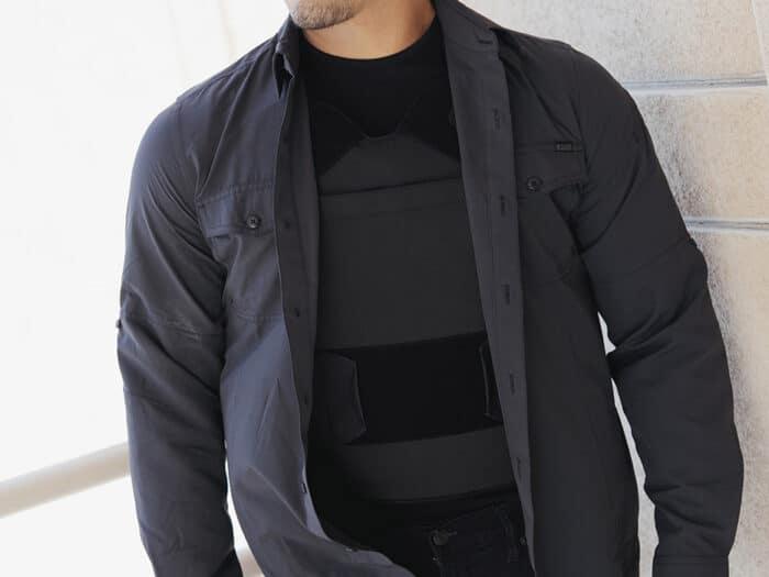 """Concealable Bulletproof Vest Level 3A """"Enhancer"""""""