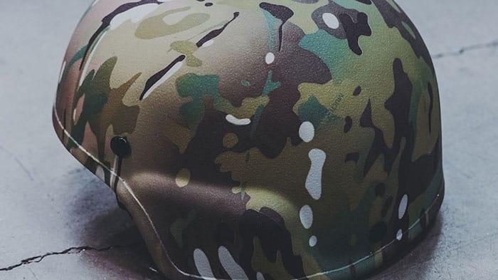 MICH Ballistic Helmet - Multicam