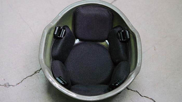 MICH Mid-Cut Ballistic Helmet - Black