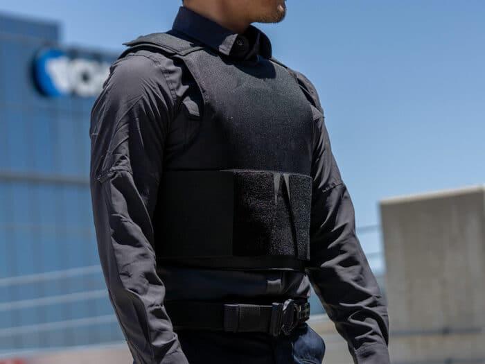 """Concealable Bulletproof Vest Level 3A """"Quantum"""""""