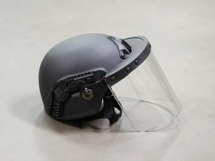 Anti-Riot Ballistic Visor for Tactical Helmet