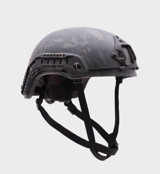 Evolution of a modern ballistic helmet.