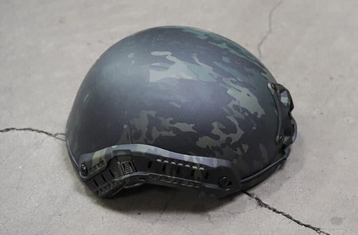 Ballistic Helmet Special Mission - Black Multicam
