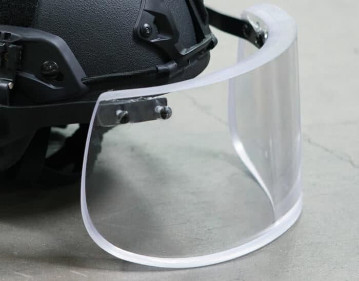 Level IIIA Ballistic Visor for Tactical Helmet