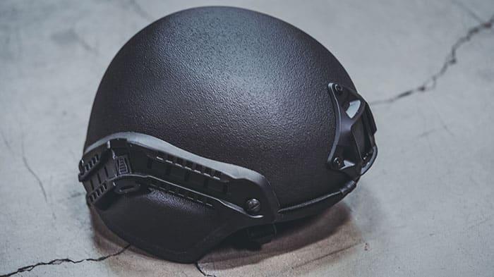 MICH Combat Ballistic Helmet Black