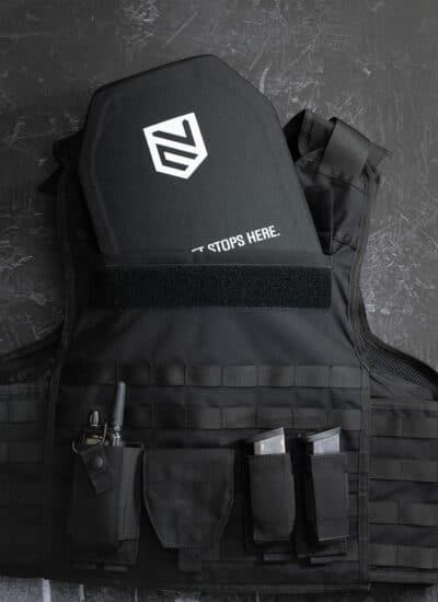 bulletproof vest with plates